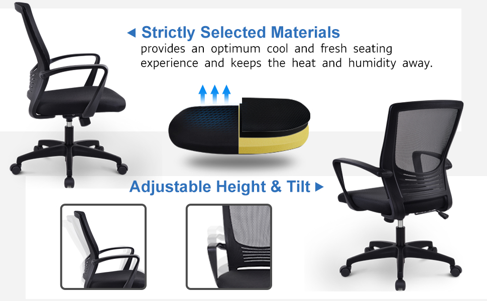 Desk Chair,Small Chair,Task Chair,Mesh Chair,Black Chair,Office Chair,Computer Chair,Gaming Chair