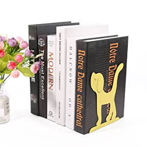 Creative Animal Dog Decorative Bookends