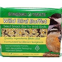 Wild Bird Buffet Seed Cake Snack Bar for Wild Birds