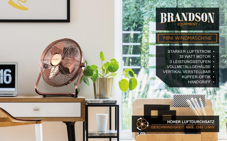 Brandson - Souffleuse en cuivre
