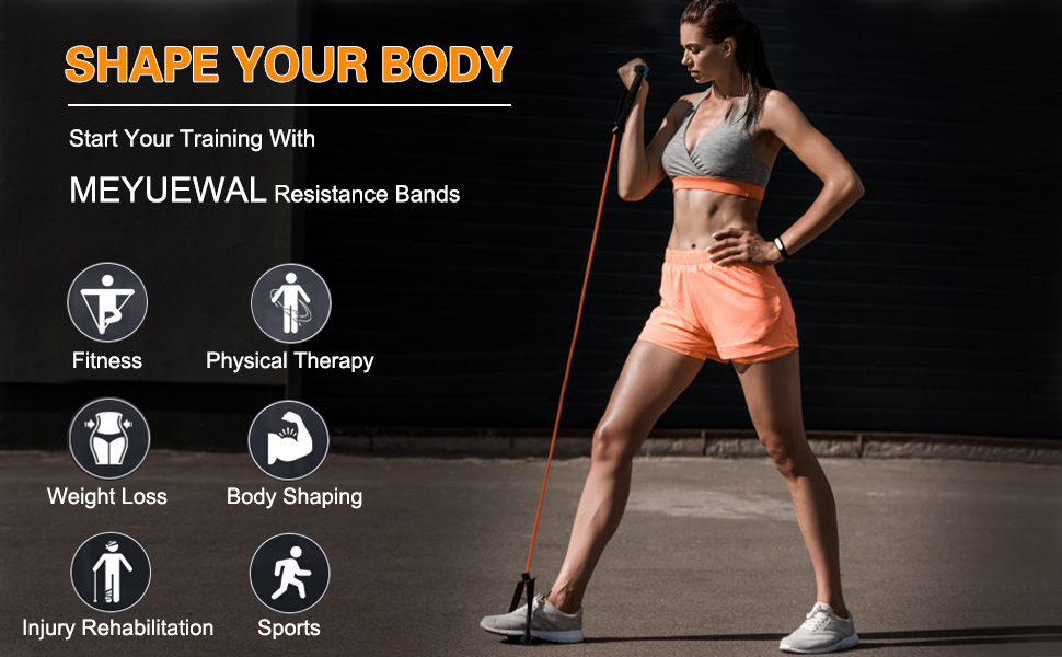 fitness tension ropes set