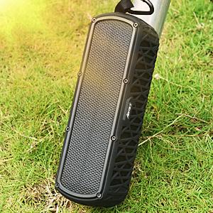 太阳能  ABFOCE Solar Bluetooth Speaker Portable Outdoor Bluetooth IPX6 Waterproof Speaker with 5000mAh Power Bank,60 Hours Play Time Dual Speaker with Mic, Stereo Sound with Bass Home Wireless Speaker-Black a91cb7cd 4d0b 4a09 89fc 7a077147fc9b