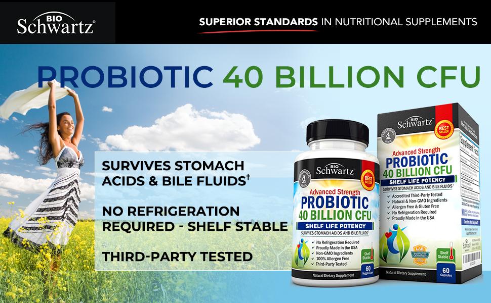 Bioschwartz Probiotic 40 billion cfu
