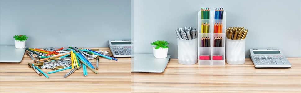 desk organizer storage box