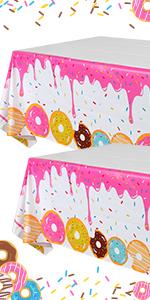 Donut Tablecloth