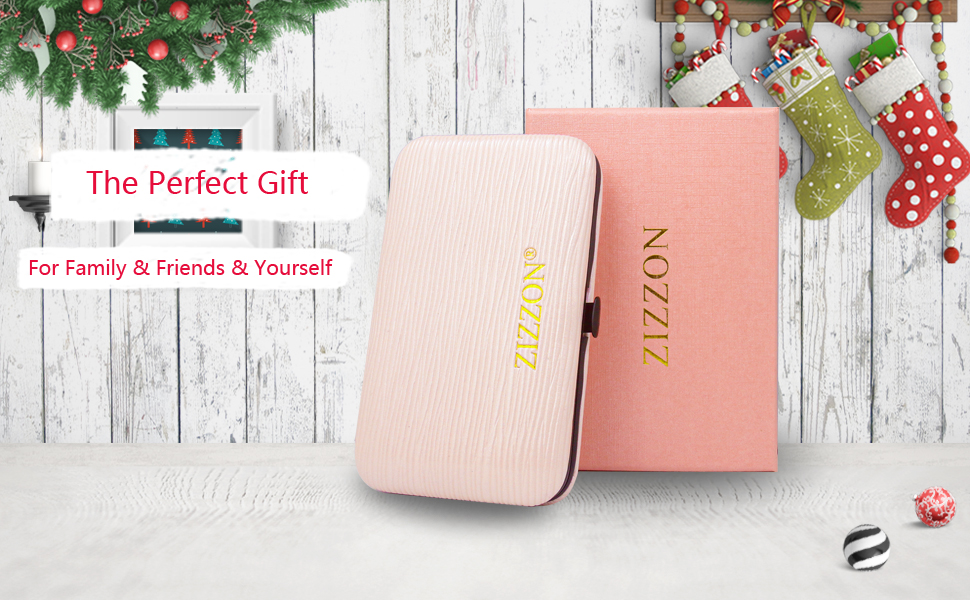 ZIZZON MANICURE SET 10 IN 1 PINK