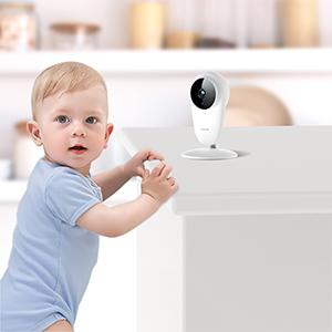 Small wifi baby camera