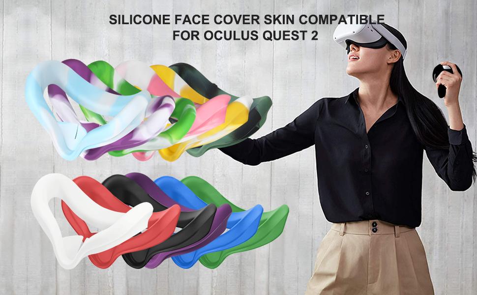 Multi-Color Face Silicone Mask
