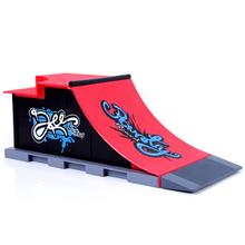 launch ramp half pipe fingerboard little skateboard fingers