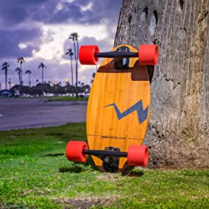 mini longboard, cruiser skateboard, mini cruiser skateboards, small skateboard, bamboo longboard