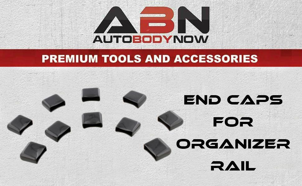 ABNEnd Caps for Socket Rail Set Aluminum Socket Holder Caps Only 10-Pack