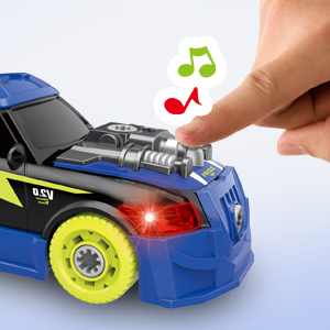 Fine Motor Skill Toy Car Construction Set STEM Building Learning Game with Lights and Sounds Gifts