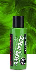 electric lizard green
