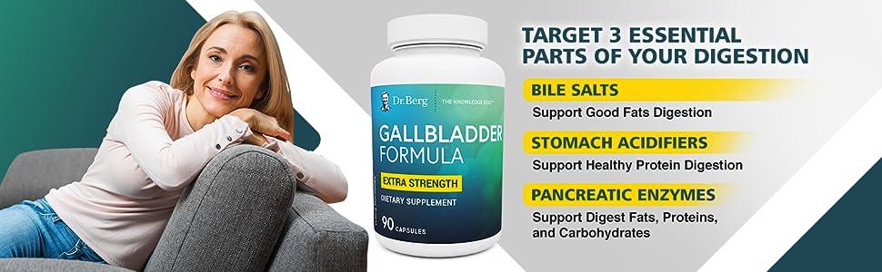 Amazon.com: Dr. Berg's Gallbladder Formula Contains ...