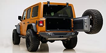 Jeep JL Wrangler Rear Bumper with D Ring Shackle