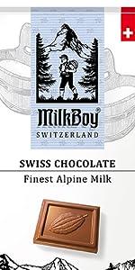 Alpine Milk Chocolate Bars