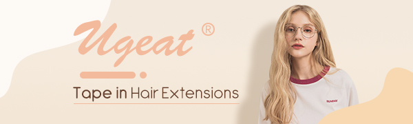 Blonde Hair Extensions Tape in