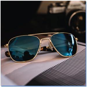 Military style aviator sunglasses for women men adventure extraordinary skytec skyforce lenses