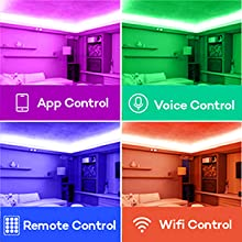Multi -color control