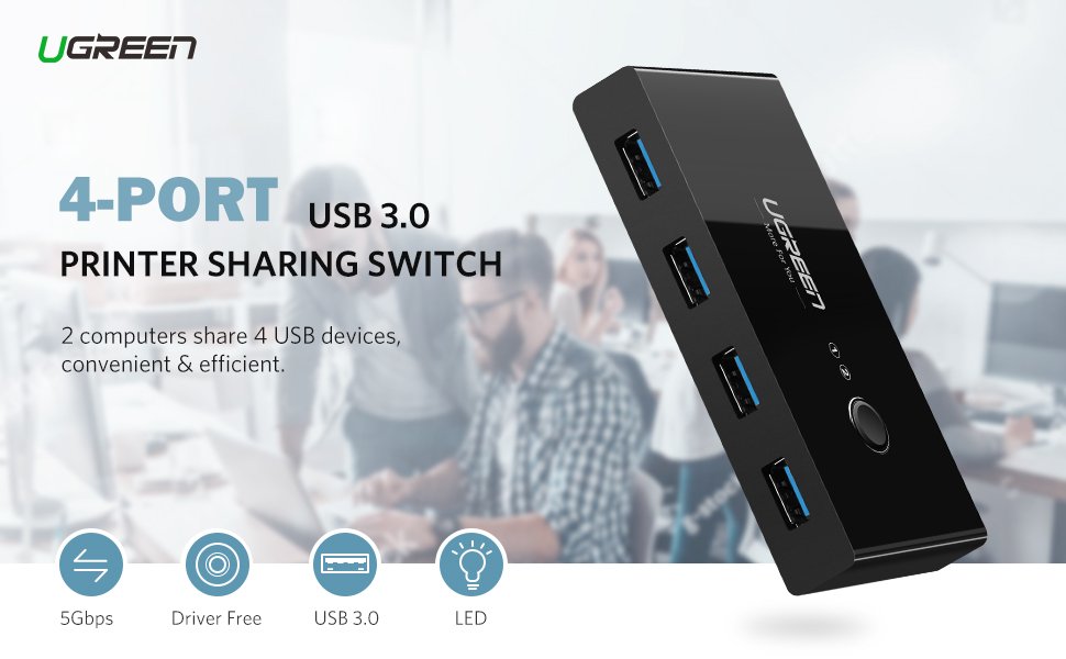 USB 3.0 Sharing Switch