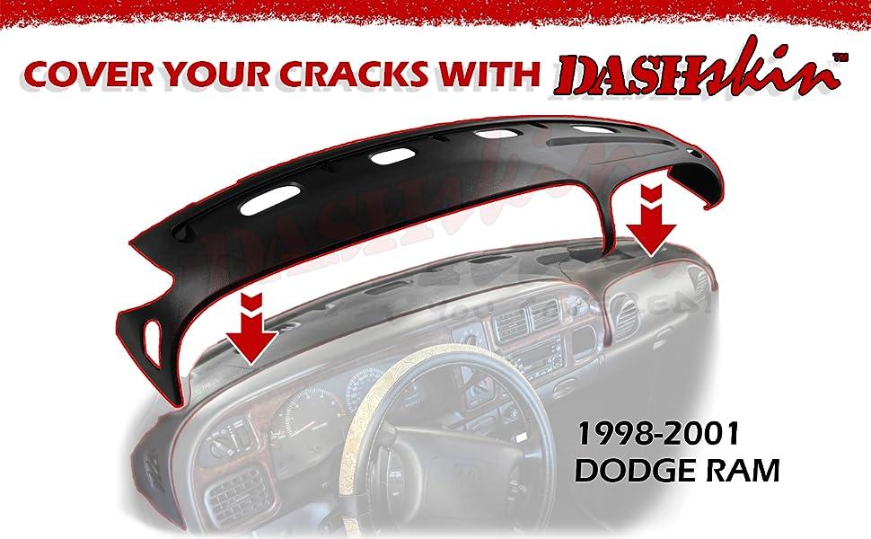 1998 1999 2000 2001 Dodge Ram dash cover