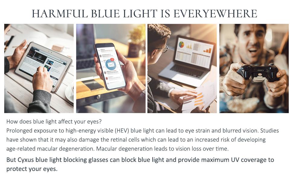 blue light filter glasses