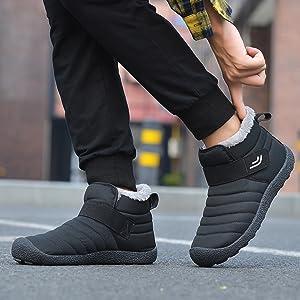 メンズ スノーブーツ 綿靴