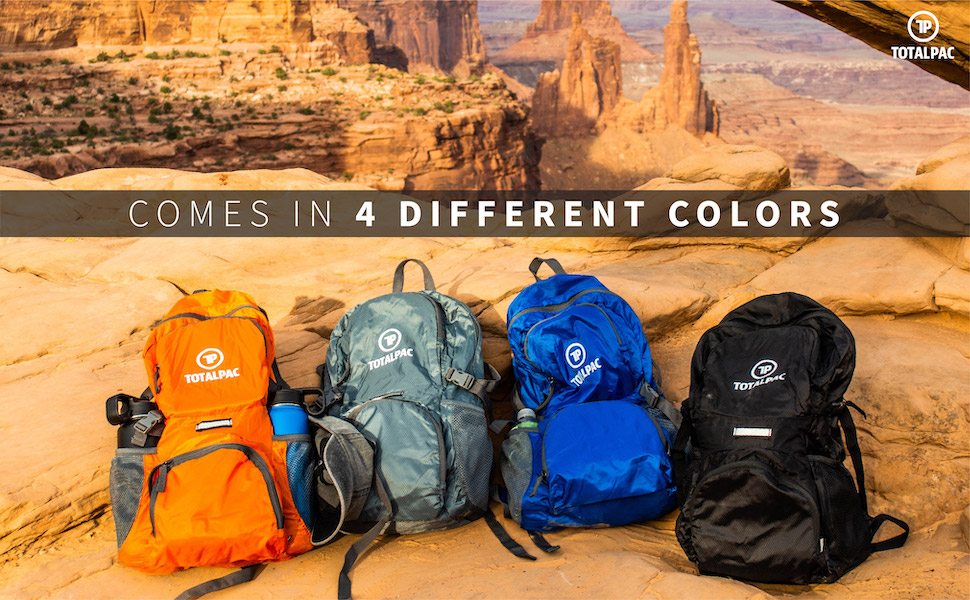 Comes in four different colors: Orange, Gray, Blue and Black.