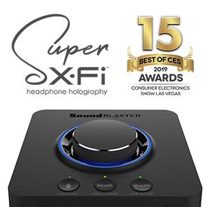 AWARD-WINNING SUPER X-FI TECHNOLOGY