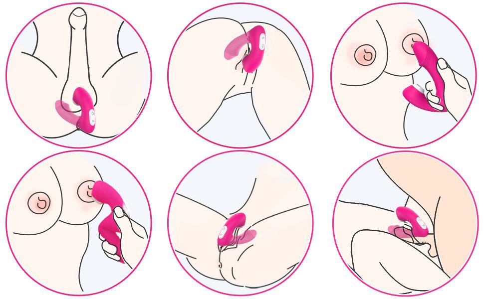 Clitoris sucking vibrations