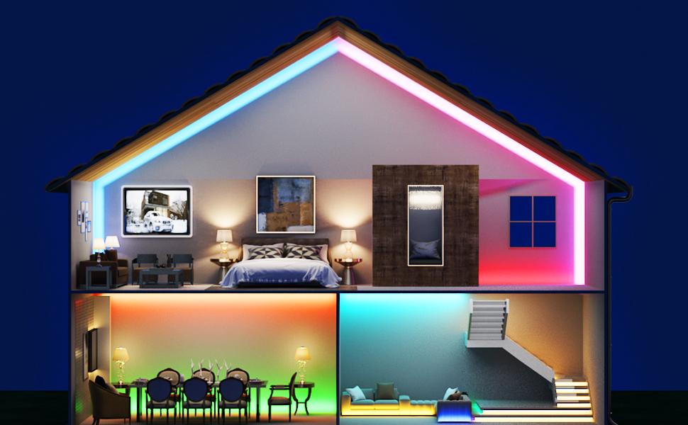 Led light for bedroom
