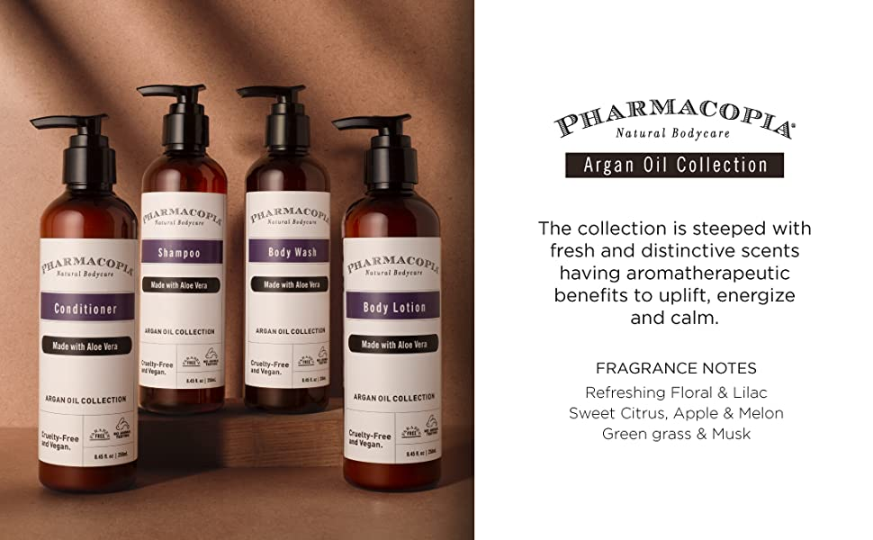 Pharmacopia Argan Oil Collection by Kimirica