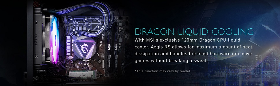 Dragon Liquid Cooling