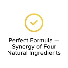 Perfect Formula — Synergy of Four Natural Ingredients