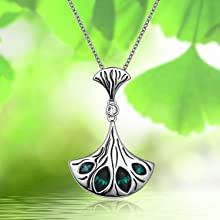 green pendent