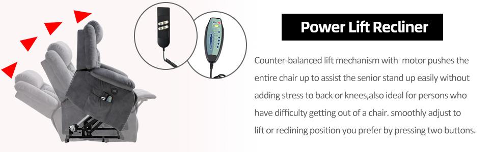 lift chair recliner