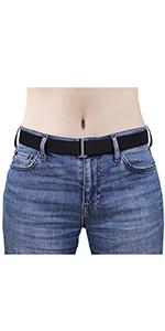 No Buckle Womens Stretch belt