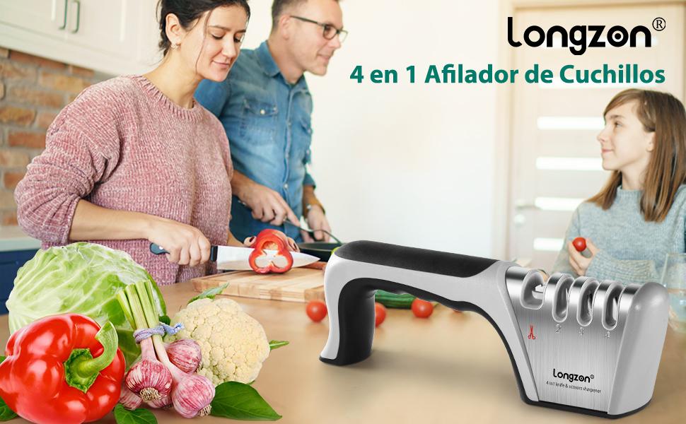 Instrucciones Afilador Cuchillos Profesional