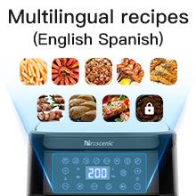 Multilingual recipes