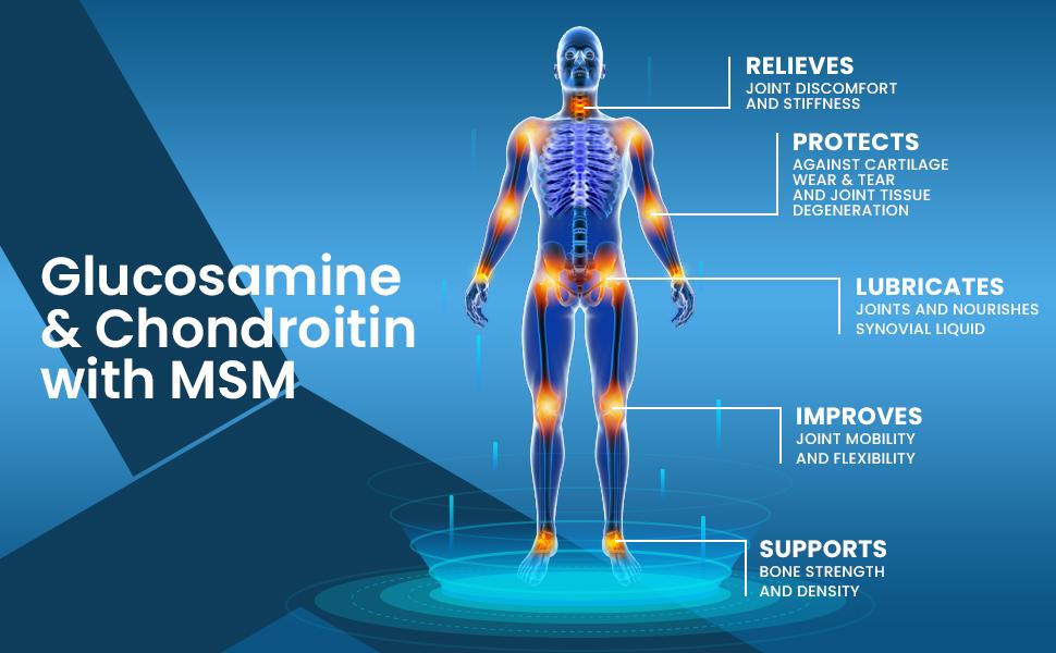 Glucosamine & Chondroitin with MSM