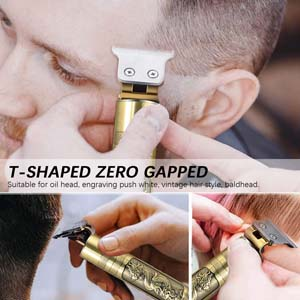 cordless zero gapped trimmers