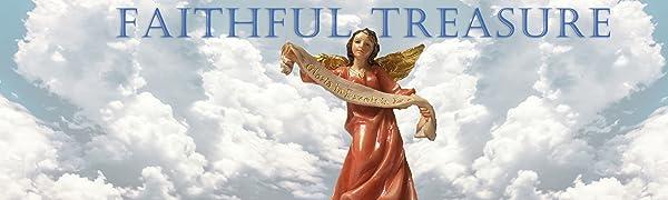 Faithful Treasure Christmas Nativity Set of 15 Figurines