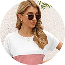 round neck tops for women