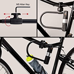 via velo convenient adjustable mounting bracket