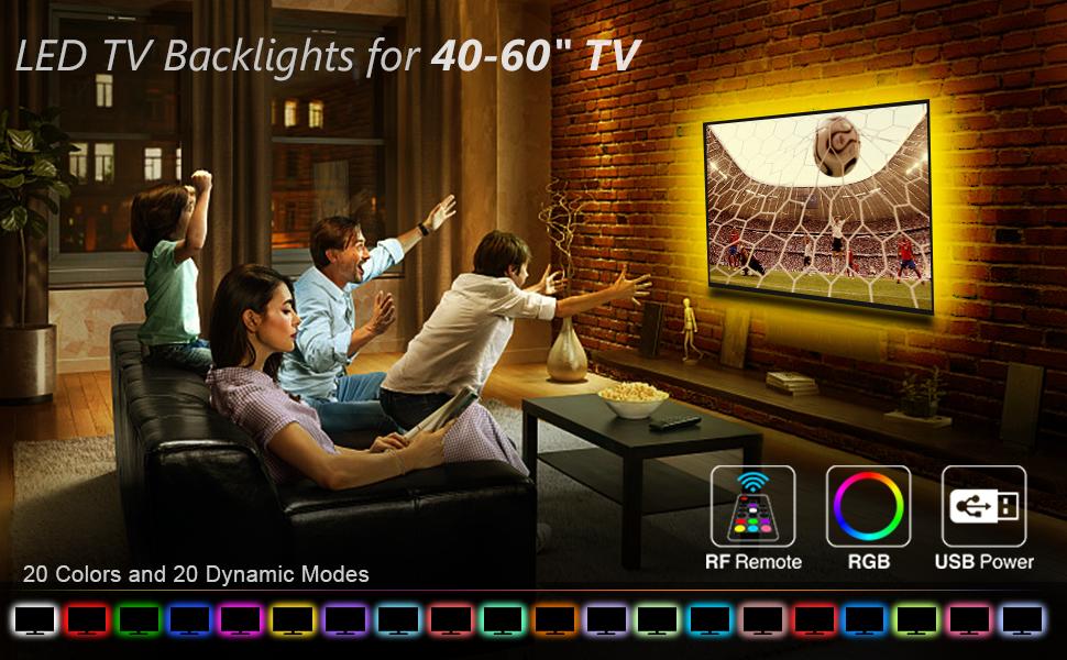 Led Strip Lights for TV Backlight