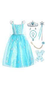 princess Elsa costume for girls