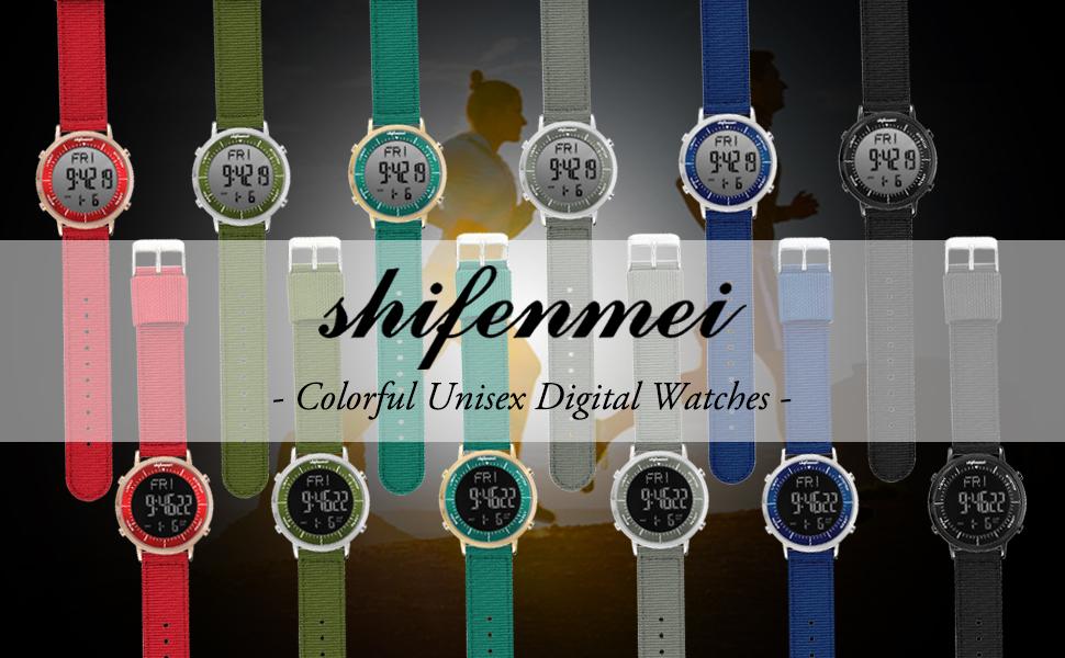 shifenmei digital watches