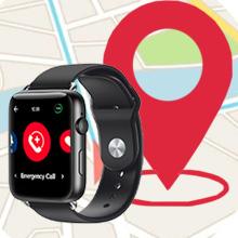 GPS smartwatch, elderly gps, senior smartwatch gps, gps tracking seniors, medical alert gps, sos