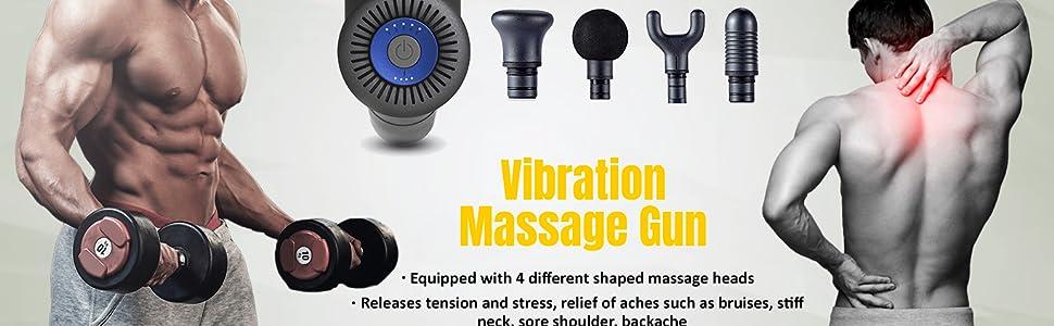 vibration massager gun