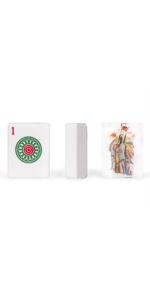"Set of 166 American Mahjong Tiles, ""God of Fortune"""